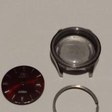 Recambios de relojes: CAJA ESFERA Y BATA ORIENT NUEVO. Lote 175732574