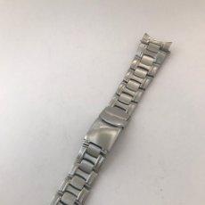 Recambios de relojes: CORREA DE LUJO LOTUS ( 21,6 MM ) EN PERFECTO ESTADO. Lote 175839014