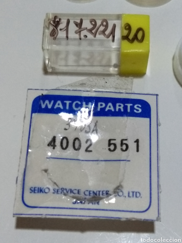Recambios de relojes: Lote de fornituras Seiko - Foto 4 - 175869564