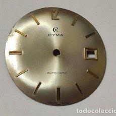 Recambios de relojes: ESFERA CYMA - 292 M/M. Ø. Lote 175974799