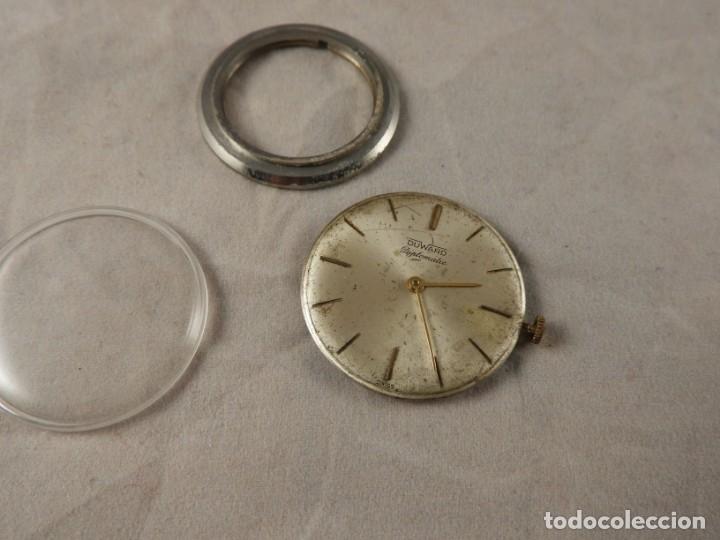 Recambios de relojes: MAQUINARIA RELOJ DUWARD DIPLOMATIC - Foto 4 - 176206423