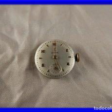 Recambios de relojes: MAQUINARIA RELOJ CYMA FUNCIONANDO. Lote 176495502