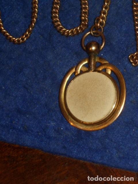 Recambios de relojes: ANTIGUA LEONTINA,CADENA PARA RELOJ DE BOLSILLO. - Foto 4 - 176681573