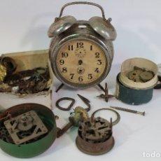 Recambios de relojes: LOTE DESGUACE RELOJES DESPERTADOR. Lote 177087962