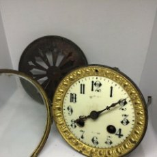 Recambios de relojes: ANTIGUA MAQUINARIA PARIS PARA RELOJ SOBREMESA-AÑO 1878- LOTE 219- PARA RESTAURAR O PIEZAS. Lote 177305207