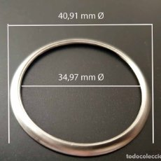 Peças de reposição de relógios: BISEL DE RELOJ - 40,91 MM Ø EXTERIOR - 34,97 MM Ø INTERIOR - USADO. Lote 177437800