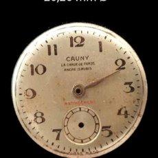 Recambios de relojes: ESFERA RELOJ ANTIGUO CAUNY. Lote 177438034