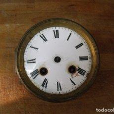 Recambios de relojes: ANTIGUA MAQUINARIA PARIS PARA RELOJ SOBREMESA-AÑO 1870- LOTE 220. Lote 177604232