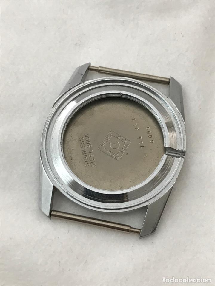 CAJA CASE RELOJ CYMA (1 701 911) 6085 SIN USAR 33,5 MM (Relojes - Recambios)