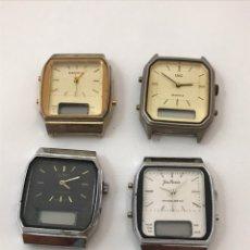 Recambios de relojes: RELOJES TOW TIME VINTAGE PARA REPARAR O PIEZAS. Lote 177887147