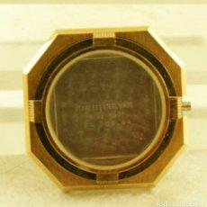 Recambios de relojes: CAJA CYMA NUEVA CHAPADA EN ORO. Lote 177898057
