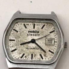 Recambios de relojes: RELOJ RUHLA CLASSIC CALENDARIO PARA PIEZAS. Lote 178052072