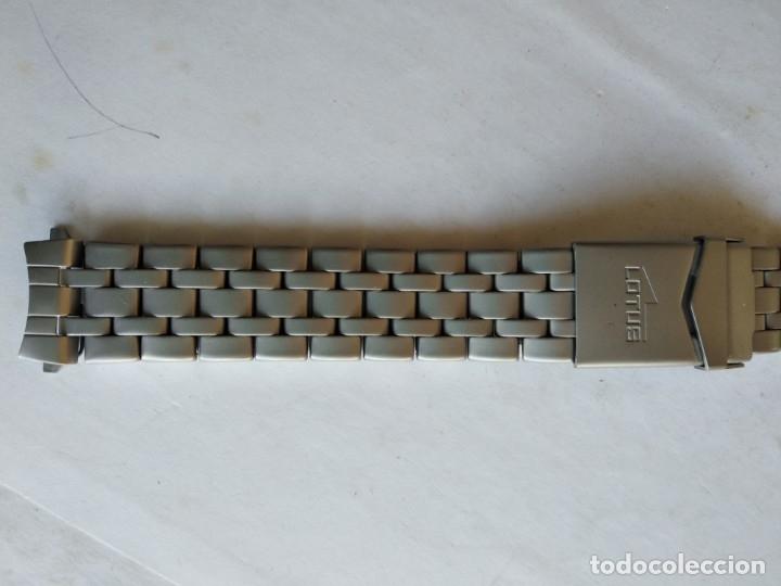 Recambios de relojes: Armis correa Lotus NOS - Foto 2 - 178365905