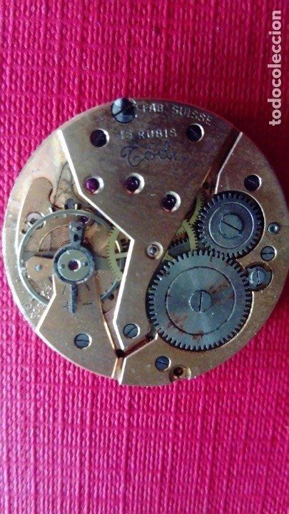 Recambios de relojes: Esfera y máquina de reloj Todi para recambios - Foto 2 - 178757193