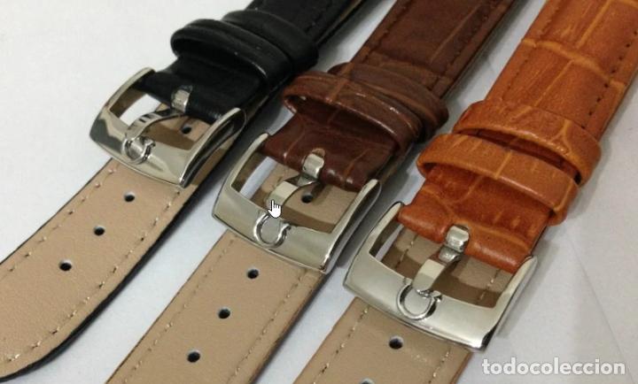 Recambios de relojes: HEBILLA ACERO INOXIDABLE 20mm. COMPATIBLE - OMEGA - - Foto 5 - 176516778