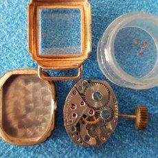 Recambios de relojes: 146-CAJA Y MINI-MÁQUINA, PARA REPUESTOS. Lote 178904043