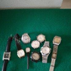 Recambios de relojes: LOTE DE RELOJES DE PULSERA. Lote 179153717