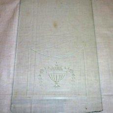 Recambios de relojes: CRISTAL TALLADO PARA PÙERTA DE RELOJ DE PARED.. Lote 179558598