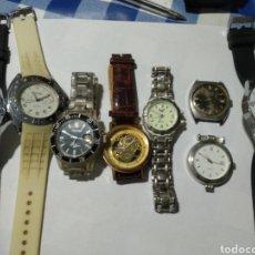 Recambios de relojes: LOTE 8 RELOJES PARA REPARAR O PIEZAS. Lote 180026226