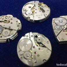 Recambios de relojes: RELOJES, LOTE CUATRO MAQUINARIAS DE RELOJES,. Lote 180153672