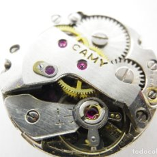 Recambios de relojes: ORIGINAL MAQUINA SUIZA MECANICA CAMY ALTA CALIDAD FUNCIONANDO LOTE WATCHES. Lote 180461047