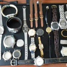 Recambios de relojes: ENORME LOTE DE RELOJES. Lote 180919788