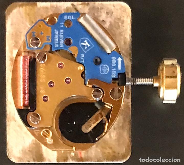 Recambios de relojes: Maquinaria reloj Kronos 11 jewels, funciona a la perfección - Foto 2 - 181401566