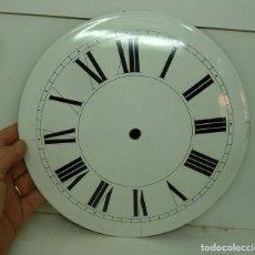 Recambios de relojes: ESFERA DE CHAPA ESMALTADA DE RELOJ MORET DIAMETRO 23,01. Lote 181404351