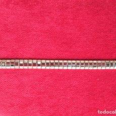 Recambios de relojes: BRAZALETE - CADENA DE RELOJ EXTENSIBLE DE ACERO. Lote 181554733