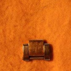 Recambios de relojes: ESLABÓN DE ROLEX SUBMARINER ORIGINAL EN ACERO Y ORO. Lote 182346191
