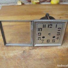 Recambios de relojes: ANTIGUA MAQUINARIA PARIS F MARTY MEDALLA DE ORO PARA RELOJ SOBREMESA-AÑO 1870- LOTE 227 FUNCIONAL. Lote 182616973