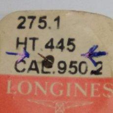Recambios de relojes: LONGINES - 950.2 - RDA. ESPIGA SEGUNDERO CENTRAL - (CD-5597). Lote 182673915