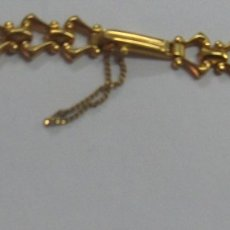 Recambios de relojes: PULSERA RELOJ Z.R.C PLAQUE ORO. Lote 182859200