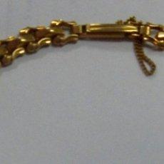 Recambios de relojes: PULSERA RELOJ Z.R.C PLAQUE ORO. Lote 182859358