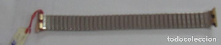 Recambios de relojes: PULSERA RELOJ Z.R.C PLAQUE ORO - Foto 2 - 182860240