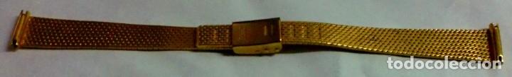 Recambios de relojes: PULSERA RELOJ Z.R.C PLAQUE ORO - Foto 2 - 182861640