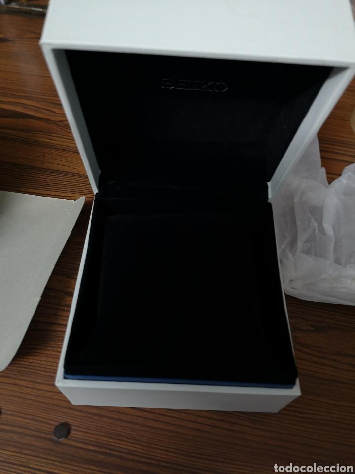 Recambios de relojes: 001. Caja nueva de Seiko vacia - Foto 4 - 178898627