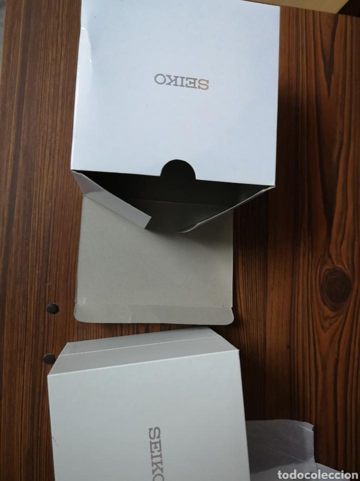 Recambios de relojes: 001. Caja nueva de Seiko vacia - Foto 6 - 178898627