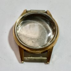 Recambios de relojes: FHF 63 - CAJA PLAQUÉ ORO - 22,3 M/M. EXT.. Lote 182967247