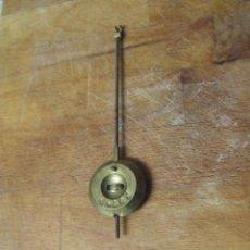 Recambios de relojes: ANTIGUO PENDULO PARA MAQUINA PARIS RELOJ DE SOBREMESA-AÑO 1860- - LOTE Nº 210. Lote 183306151
