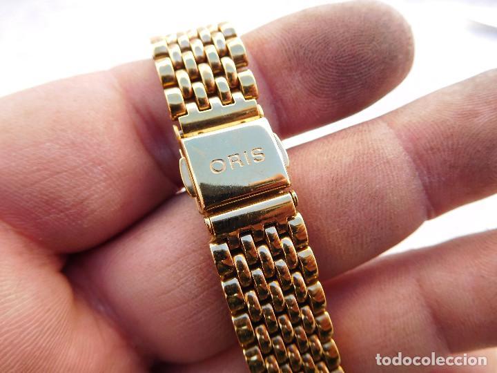Recambios de relojes: Armis de acero chapado en oro para reloj Oris - Foto 2 - 183738536