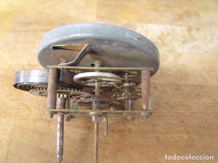 Recambios de relojes: antigua maquinaria reloj art-nouveau- año 1920- lote 183 - Foto 3 - 184833945