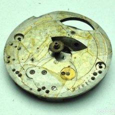 Recambios de relojes: MAQUINARIA DE RELOJ DE BOLSILLO PARA RECAMBIOS O REPARAR N - 17. Lote 184867846