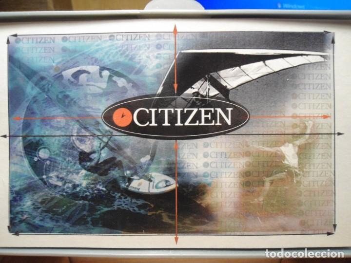 Recambios de relojes: Caja madera Reloj Citizen. - Foto 3 - 185925201