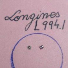 Recambios de relojes: LONGINES - L 994.1 - PIÑÓN CANTO+CORREDIZO - (CD-5639). Lote 185983868