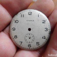Recambios de relojes: ESFERA ANTIGUA PARA RELOJ CYMA. Lote 187176187