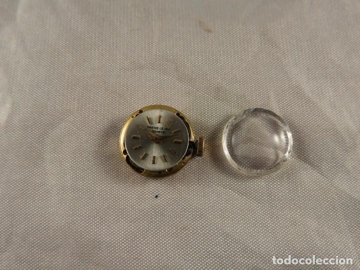 Recambios de relojes: MAQUINARIA RELOJ FABRE LEUBA GENEVE FUNCIONANDO - Foto 5 - 189179806