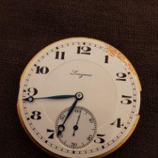 Peças de reposição de relógios: MOVIMIENTO LONGINES DE ANTIGUO RELOJ DE BOLSILLO.. Lote 189290391