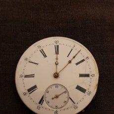 Recambios de relojes: MÁQUINA DE RELOJ DE BOLSILLO VINTAGE.. Lote 189300913