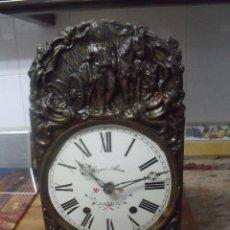 Recambios de relojes: ¡¡GRAN OFERTA!! ANTIGUA MAQUINARIA MOREZ DE PESAS- FUNCIONAL- LOTE 172. Lote 189897015